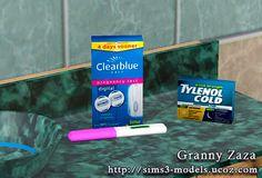 My Sims 3 Blog: Women's Stuff Decor by Granny Zaza