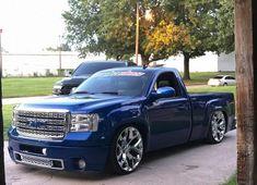 Chevy Trucks Lowered, Custom Chevy Trucks, Hot Rod Trucks, Gm Trucks, Gmc Denali Truck, Dropped Trucks, Cars Motorcycles, Dan, Ford