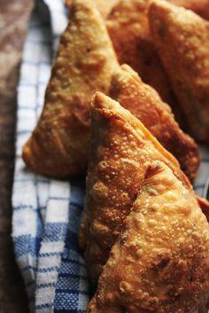 Making Potato Samosa - Notions & Notations of a Novice Cook