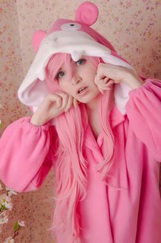 Slowpoke kigurumi by yotsubanoclover on Etsy