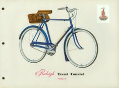 raleigh bicycle catalogue from 1956