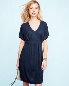 Easy Banded-Waist Dress
