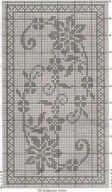 Kira scheme crochet: Scheme crochet no. 1731 - My WordPress WebsiteRectangular tablecloth with flowers - My WordPress WebsiteCrochet on Stylowi.Šeme za heklanje – Page wonderful pattern Crochet Table Runner Pattern, Crochet Doily Patterns, Weaving Patterns, Thread Crochet, Crochet Motif, Crochet Doilies, Crochet Stitches, Knit Crochet, Crochet Ideas