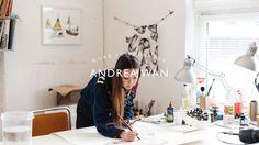 Andrea Wan - Work in Progress Directed by: Sylvie Weber http://sylvieweber.tumblr.com/  www.iGNANT.de