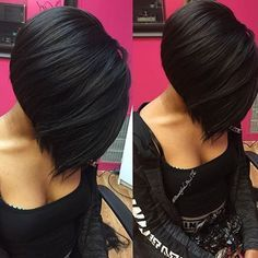 STYLIST FEATURE| This #tbt #bobcut ✂️styled by #StLouisStylist @Beautified_By_Thi is so sexy It's all in the cut #VoiceOfHair