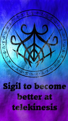 Sigil to become better at telekinesis Requested by anonymous Wiccan Symbols, Magic Symbols, Spiritual Symbols, Symbols And Meanings, Magick Spells, Witchcraft, Astral Projection, Wiccan Spell Book, White Magic