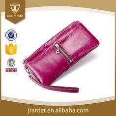 China ladies hand purse women wallet genuine leather brand