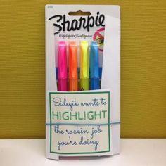 Fun office culture   Marketing platform Sideqik Startup culture encouragement of employees   free printable   Highlight the rockin job   teacher gifts  