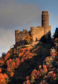 Rhine River Castle via Flickr