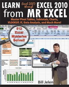For people who use Excel 20-40 hours every week - hundreds of cool tips and tricks. Pivot tables, VLOOKUP, Subtotals, Charts, and More.
