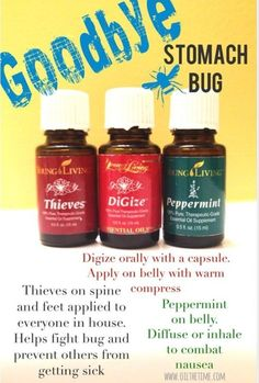 Get rid of a stomach virus with essential oils - young living by Sugarbean