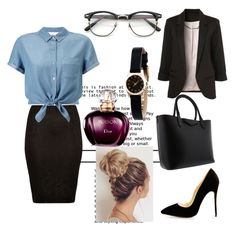 """Job day :)"" by sadikovicadela ❤ liked on Polyvore featuring River Island, Miss Selfridge, Givenchy and Marc by Marc Jacobs"