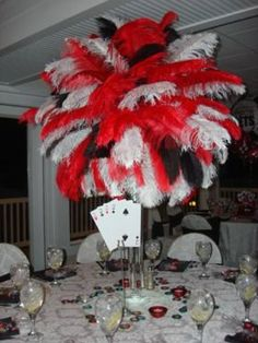 Vegas Theme Las Vegas Themed Centerpiece Rentals Vegas Themed Party