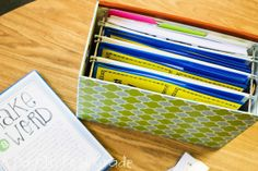organizing guided reading materials