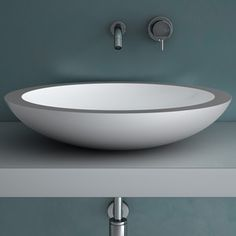 Round Sink White Polish now featured on Fab.