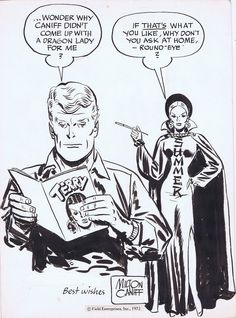 Steve Canyon Specialty piece by Milton Caniff, in JeffSingh's Milton Caniff other art Comic Art Gallery Room - 1150969
