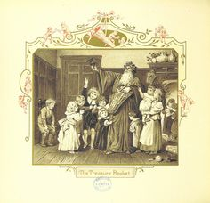 """Image taken from: Title: """"The Coming of Father Christmas"""" Author: Eliza Manning"""