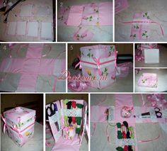 Органайзер-коробочка для швей и вышивальщиц - фото мастер-класс