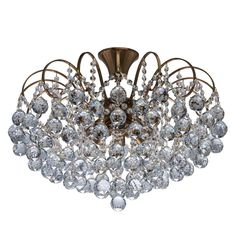 Plafoniera Crystal 232016808 #homedecor #homedesign #inspiration #interiordesign #livingroom #livingroomdecor #decoration #decor Glamping, Lustre Design, Design Case, Living Room Decor, Chandelier, House Design, Ceiling Lights, Pearls, Crystals