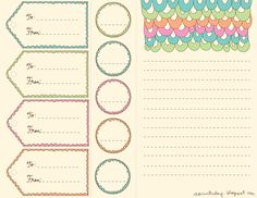 New Free Printables