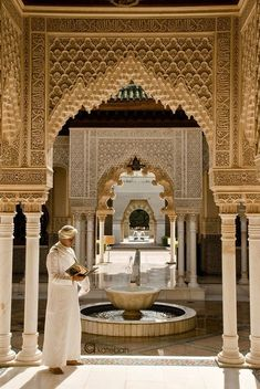 7 Travel Destinations In Morocco You Should Visit Moroccan Design, Moroccan Decor, Moroccan Style, Islamic Architecture, Beautiful Architecture, Art And Architecture, Design Marocain, Style Marocain, Islamic World