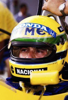 ...Ayrton Senna