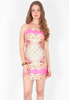 Naven Jagger Dress in Baroque Print  $106