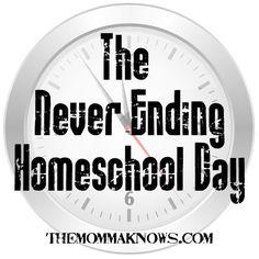 The Never-Ending Homeschool Day
