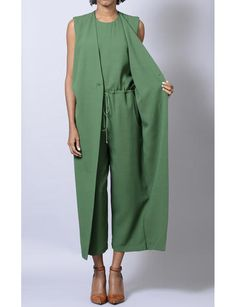 vested jumpsuit