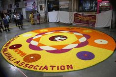 In Pictures: Railways greets commuters with floral rangoli on the occasion of…