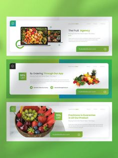 The Fruit Agency Facebook Cover Template AI, PSD Facebook Cover Template, Templates, App, Fruit, Stencils, Vorlage, Apps, Models