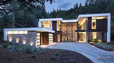 Rectangle House - Aspen, CO ARCHITECT: Charles Cunnife Architects BUILDER: Brikor Associates Dynamic Architectural Windows & Doors