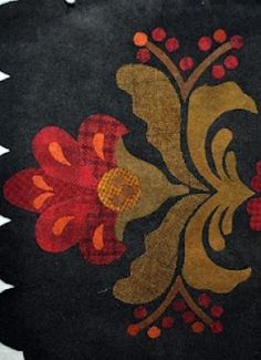 Wool Applique.  Wow, This is beautiful!