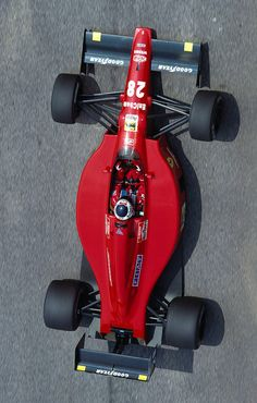 Gerhard Berger, Ferrari 640 @ Brazilian Grand Prix 1989