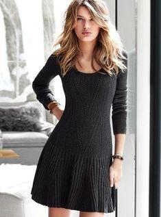 triko elbise örneği