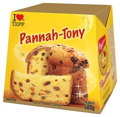 Well, that's how panettone is pronounced in Kairdiff - and in our house, Christmas wouldn't be the same without it.