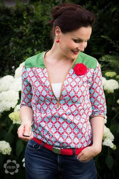 lillesol & pelle Schnittmuster / pattern: Sommerhose / summer pants