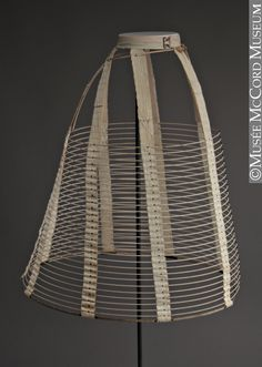 Hoop skirt  1860-1869, 19th century