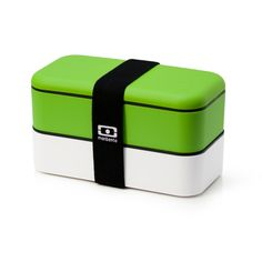 Monbento Original Bento Box - GREEN / WHITE