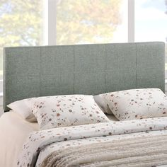 Found it at Wayfair - Olivia Queen Upholstered Panel Headboard