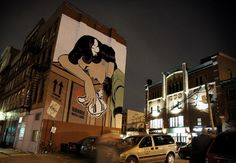 UK-based Street Artist - D*Face / Handle with Care