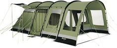 Sleeping up to five, here is a smaller alternative to the Wolf Lake 7 tent in instantly recognizable by its three color exterior and full-size Front Canopy with mud valance. Format is the same as the Wolf Lake 7 tent, with inner at a right-angle to the main entrance. Key features in this tent are Outer® Airtech's climate comfort fabric, polycot ton Universal Inner Tent, large windows etc......