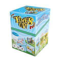 Time's up kids est la version enfants du jeu d'ambiance Time's up. L'objectif de chaque partie est de faire deviner un mot, un objet, un personnage, un animal à ses partenaires pendant la durée du sablier. D'abord en le décrivant, puis en le mimant. Dans cette version, il n'est pas nécessaire de savoir lire, toutes les cartes sont des illustrations. Time's up kids est aussi un jeu de langage et d'expression corporelle.