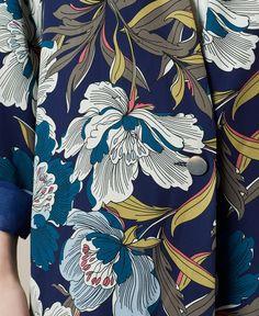 ideas flowers illustration design graphics colour for 2019 Textile Patterns, Textile Prints, Textile Design, Floral Prints, Floral Print Design, Floral Motif, Flower Pattern Design, Surface Pattern Design, Flower Patterns