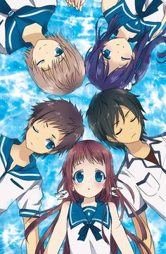 [F] Nagi No Asukara GREAT ANIME 9/10 Drama, Romance, Fantasy 26 Episodes~
