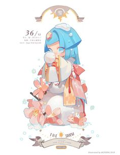 The Clow Cards Blue collection always forget to post work after i finishO< Kawaii Chibi, Cute Chibi, Anime Kawaii, Anime Chibi, Anime Art, Kawaii Drawings, Cute Drawings, Cute Illustration, Character Illustration