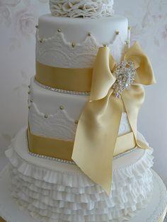 50th anniversary cake idea