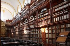 A beautiful view of Palafoxiana Library in Mexico Image courtesy of David Cabrera's Flickr stream.
