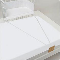attaches under mattress