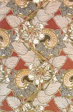 art nouveau pattern designs by René Beauclair